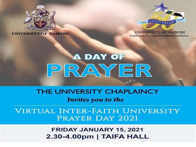 University of Nairobi Prayer Day