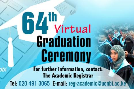 64TH VIRTUAL GRADUATION