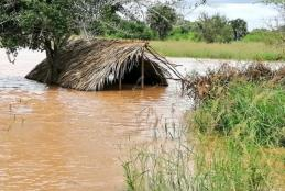 Floods in Tana River County, Kenya, May 2020. Photo; Kenya Red Cross